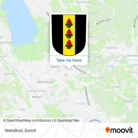 Wetzikon map