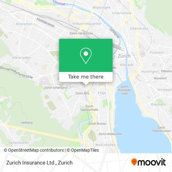Zurich Insurance Ltd. map