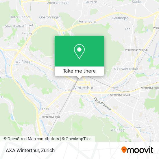 AXA Winterthur map