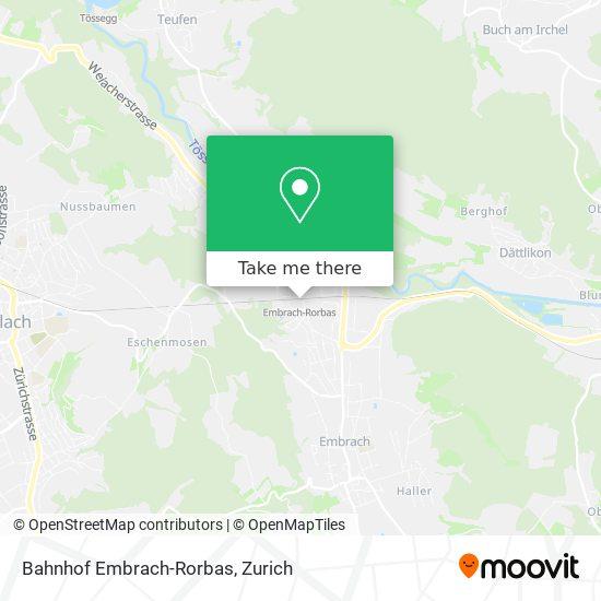 Bahnhof Embrach-Rorbas map