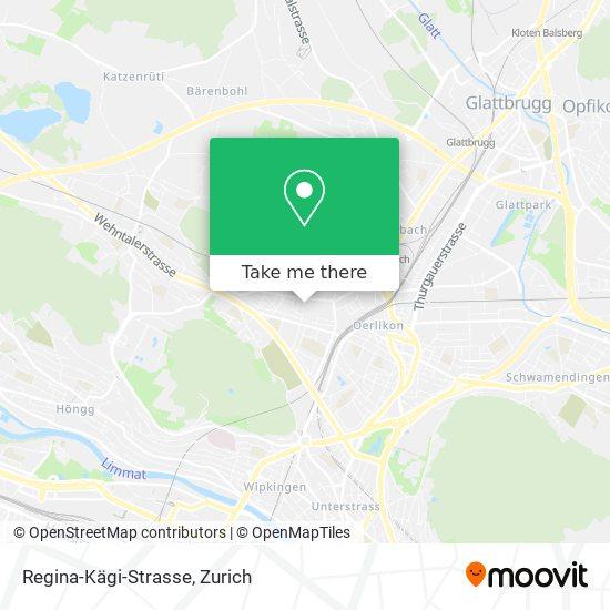 Regina-Kägi-Strasse map