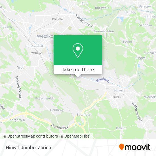 Hinwil, Jumbo map