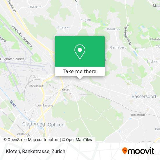 Kloten, Rankstrasse map