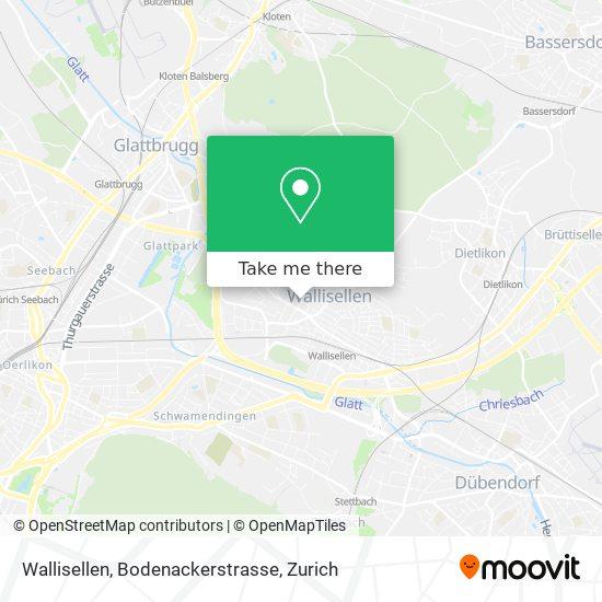 Wallisellen, Bodenackerstrasse map