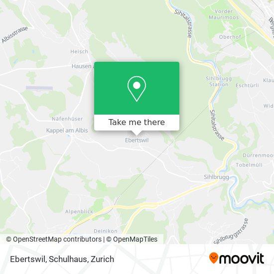 Ebertswil, Schulhaus map