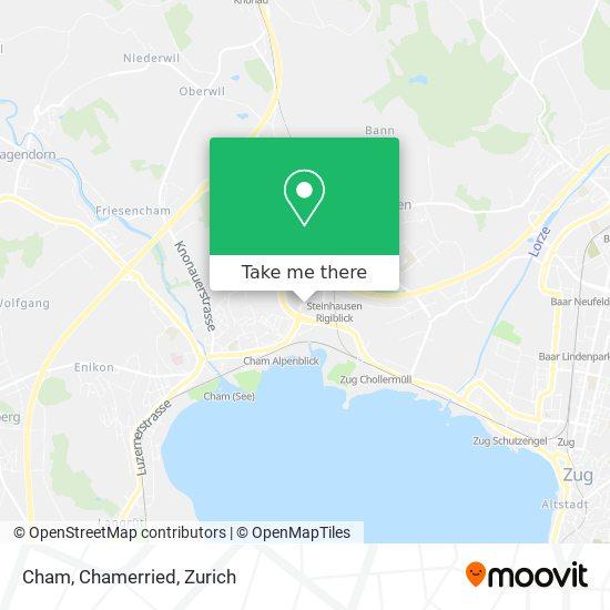 Cham, Chamerried map