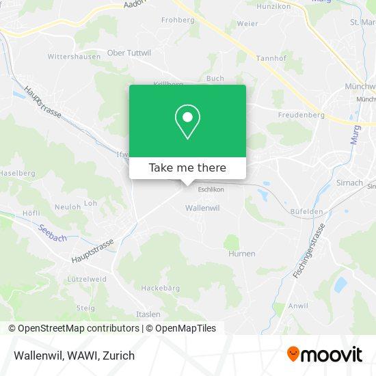 Wallenwil, WAWI map