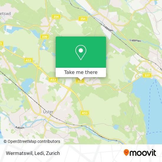 Wermatswil, Ledi map