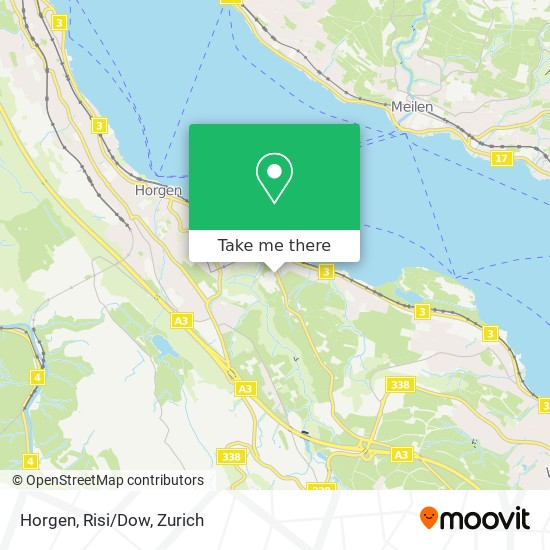 Horgen, Risi/Dow map