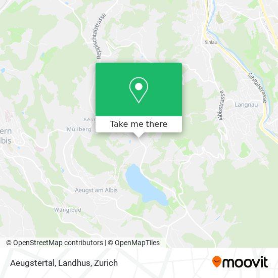 Aeugstertal, Landhus map