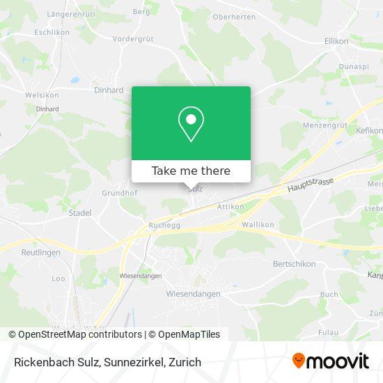 Rickenbach Sulz, Sunnezirkel map
