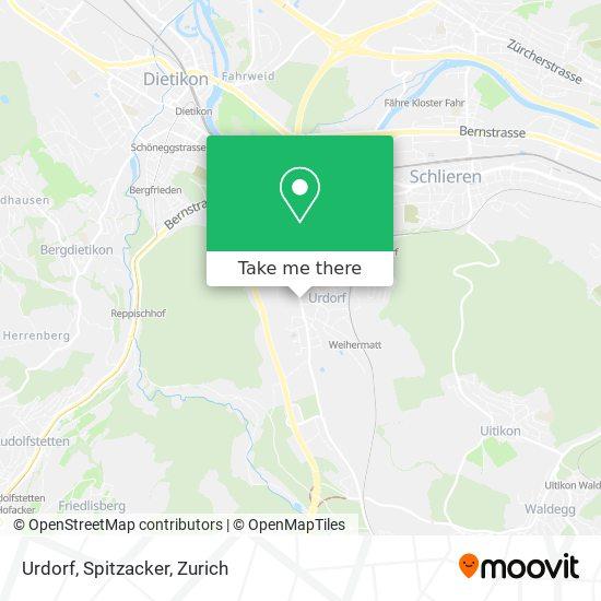 Urdorf, Spitzacker map
