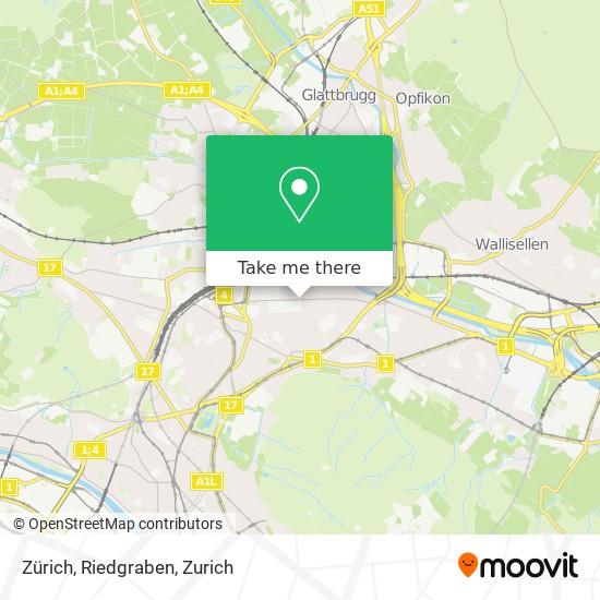 Zürich, Riedgraben map