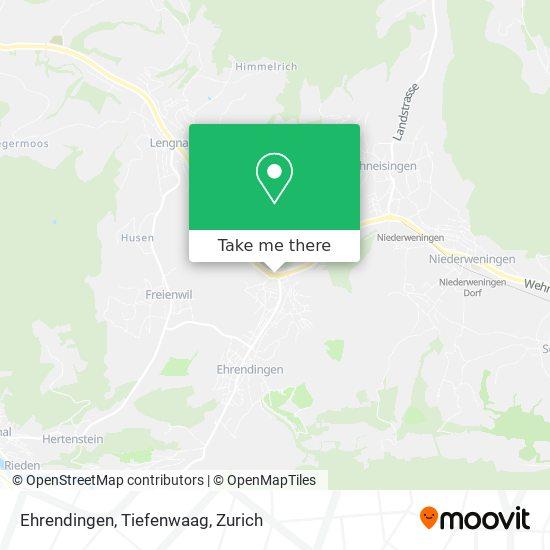 Ehrendingen, Tiefenwaag map