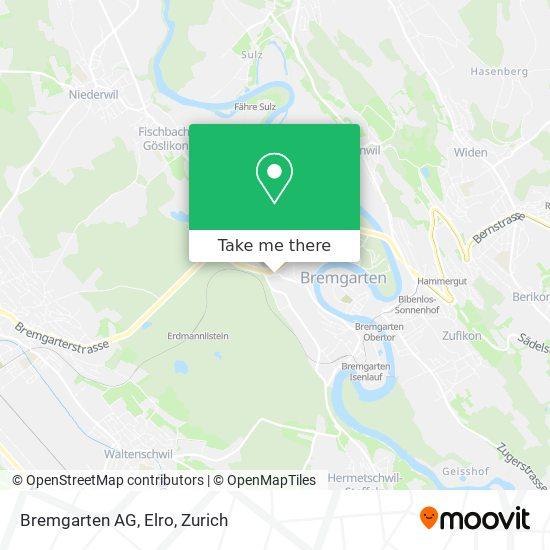 Bremgarten AG, Elro map