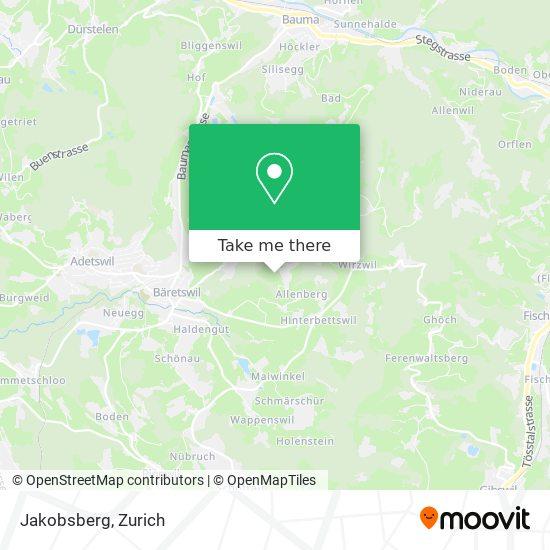 Jakobsberg map