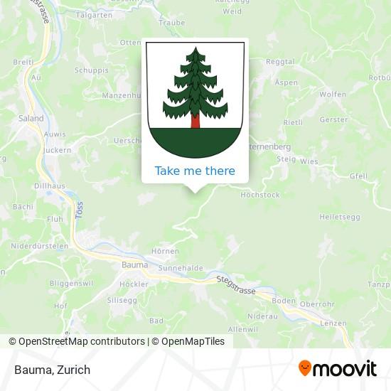 Bauma map