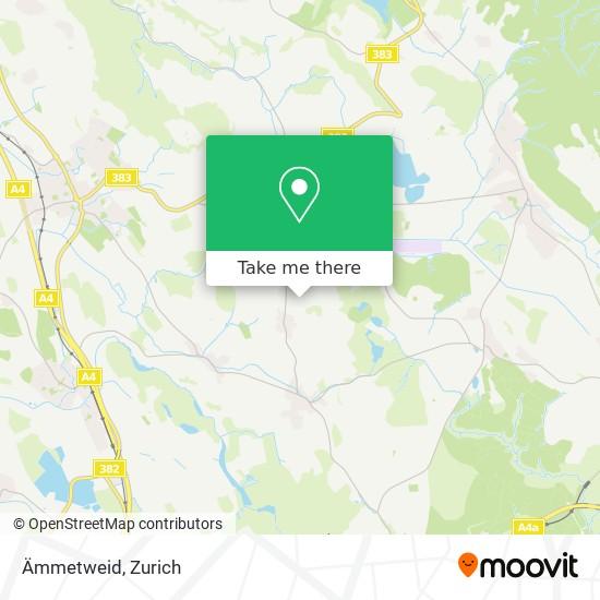 Ämmetweid map