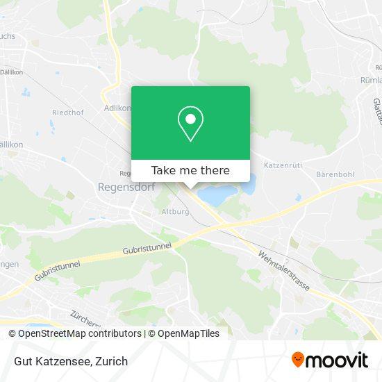 Gut Katzensee map