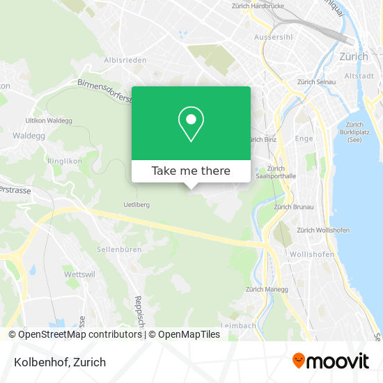 Kolbenhof map
