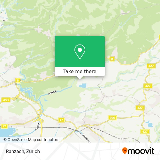 Ranzach map
