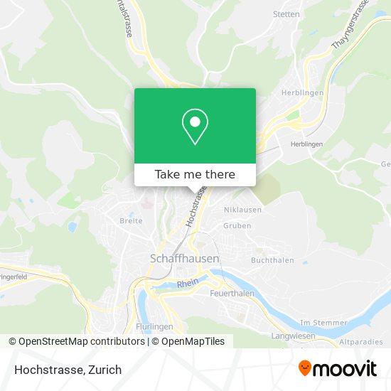 Hochstrasse map