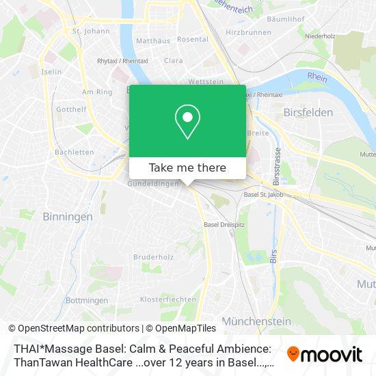 Rhein thai massage weil am Thaimassage in