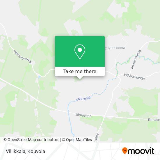 Villikkala map