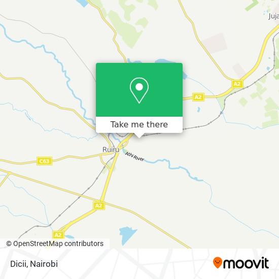 Dicii map