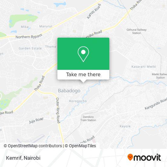 Kemrif map