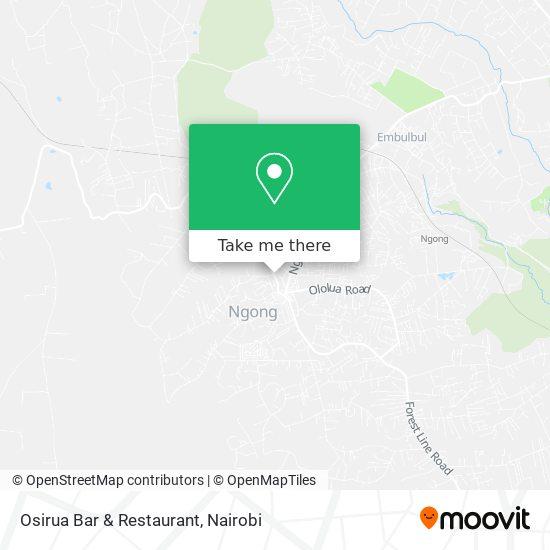 Osirua Bar & Restaurant map