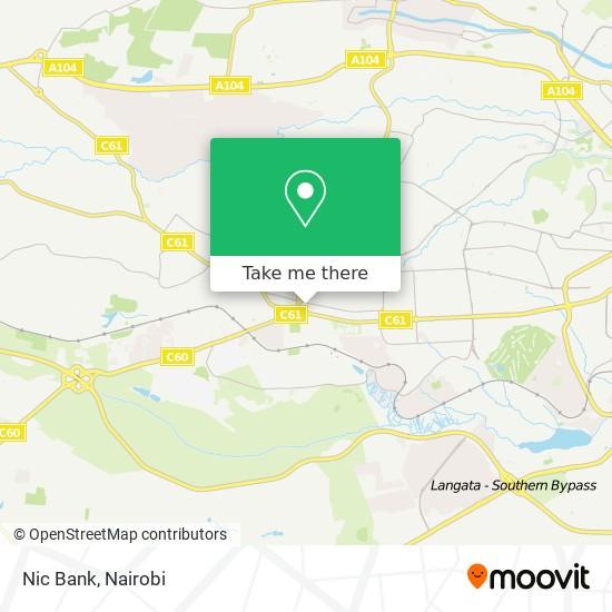 Nic Bank map