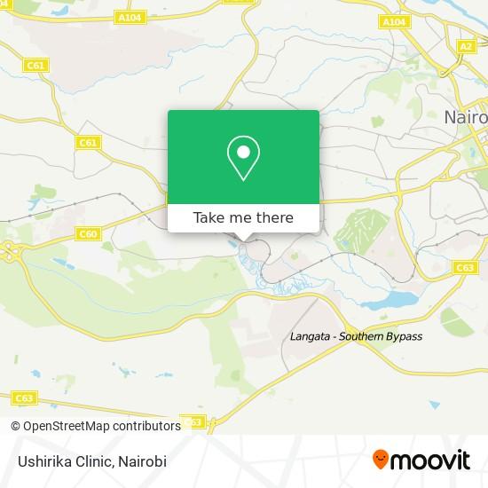 Ushirika Medical Centre map