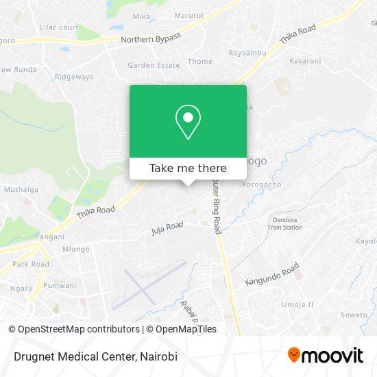 Drugnet Medical Center map