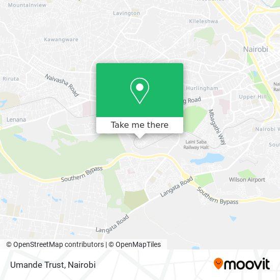 Umande Trust map