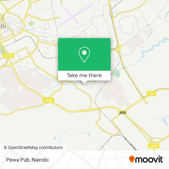Pewa Pub map
