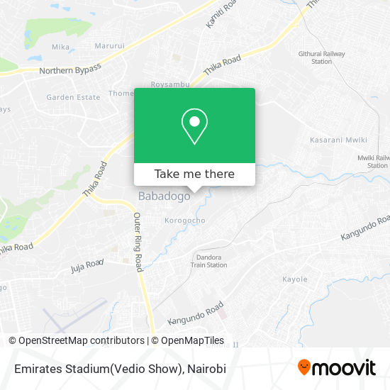 Emirates Stadium(Vedio Show) map