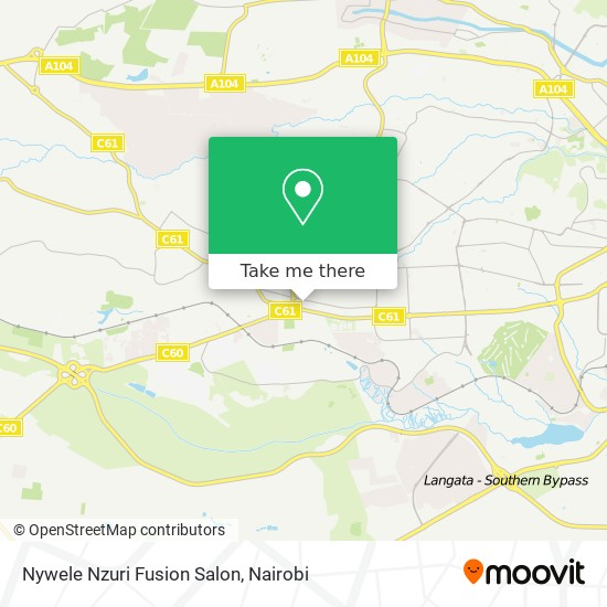 Nywele Nzuri Fusion Salon map