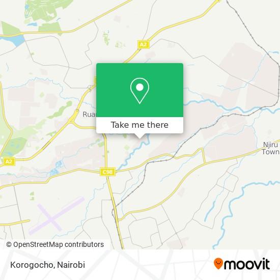 Korogocho map