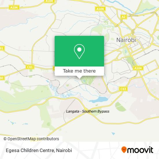 Egesa Children Centre map