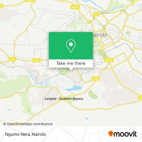 Ngumo Nera map