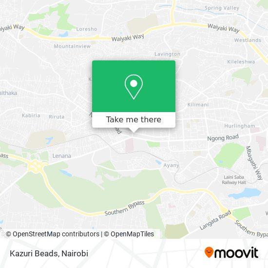Kazuri Beads map