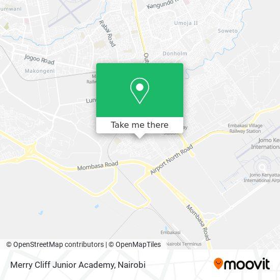 Merry Cliff Junior Academy map