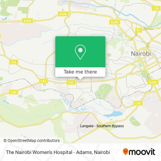 Masaba Hospital map