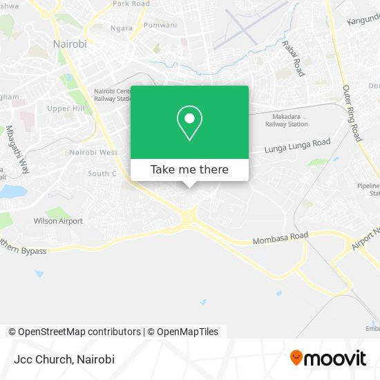 Jcc Church map