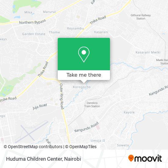 Huduma Children Center map