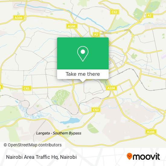 Nairobi Area Traffic Hq map
