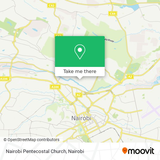 Nairobi Pentecostal Church map