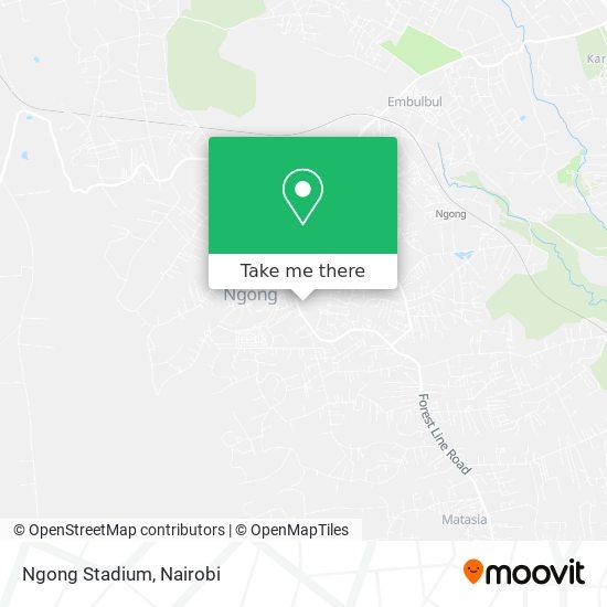 Ngong Stadium map