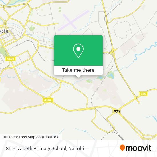 St. Elizabeth Primary School map